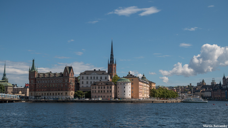 Riddharholmen seen with Weelo Stockholm