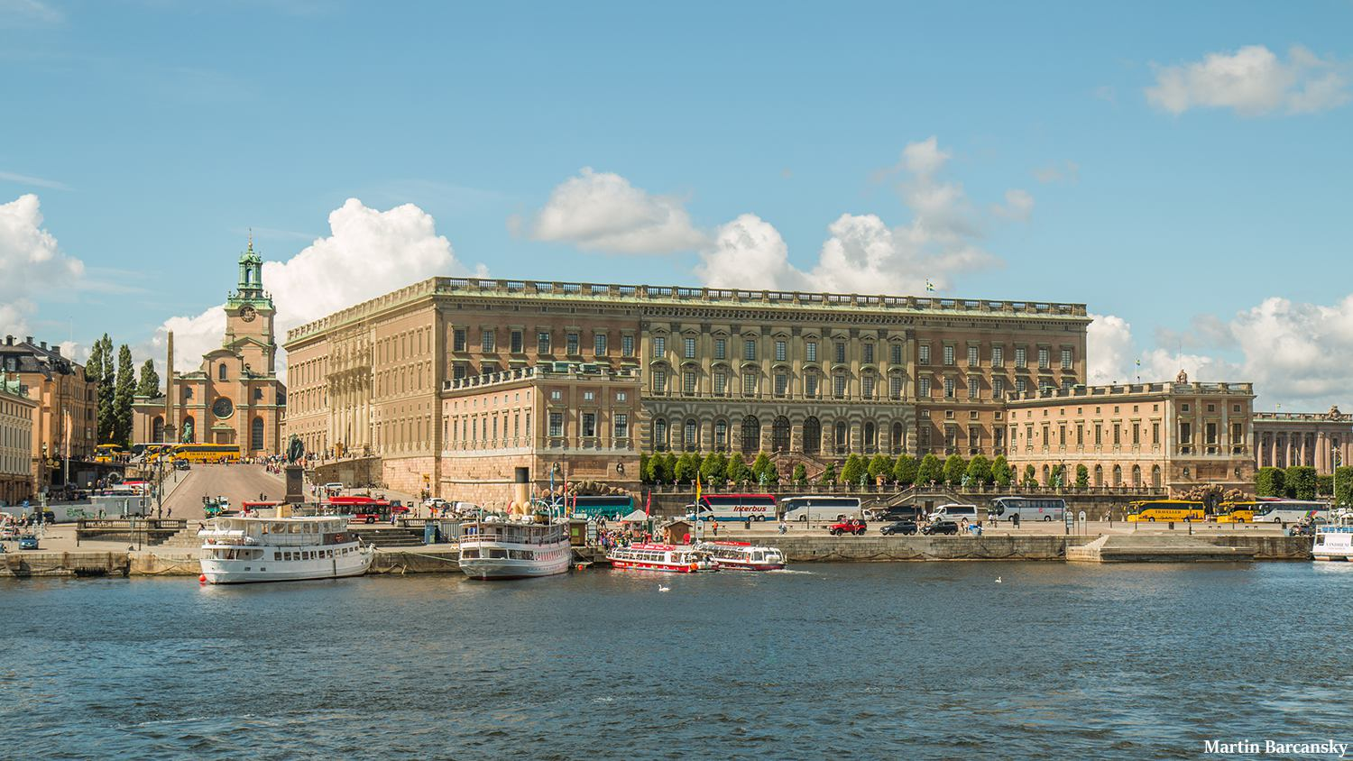 Picture of Swedish Royal palace from our tours