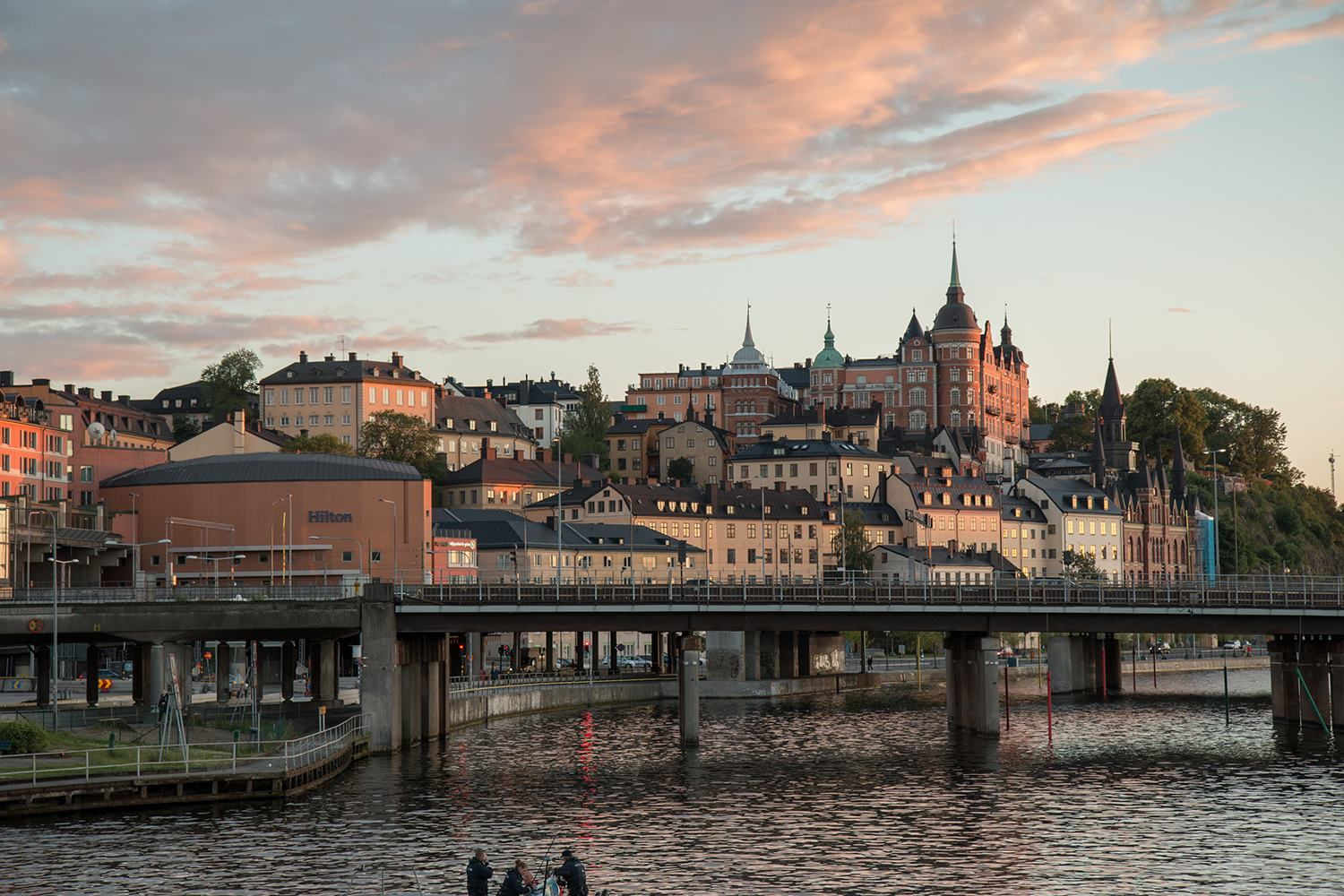 Great picture of Riddarholmen with Weelo Stockholm